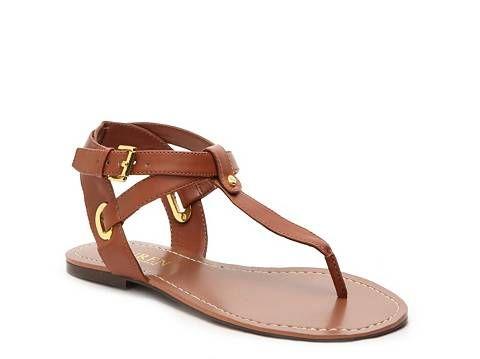 Lauren Ralph Lauren Adina Flat Sandal Fashion Shoes