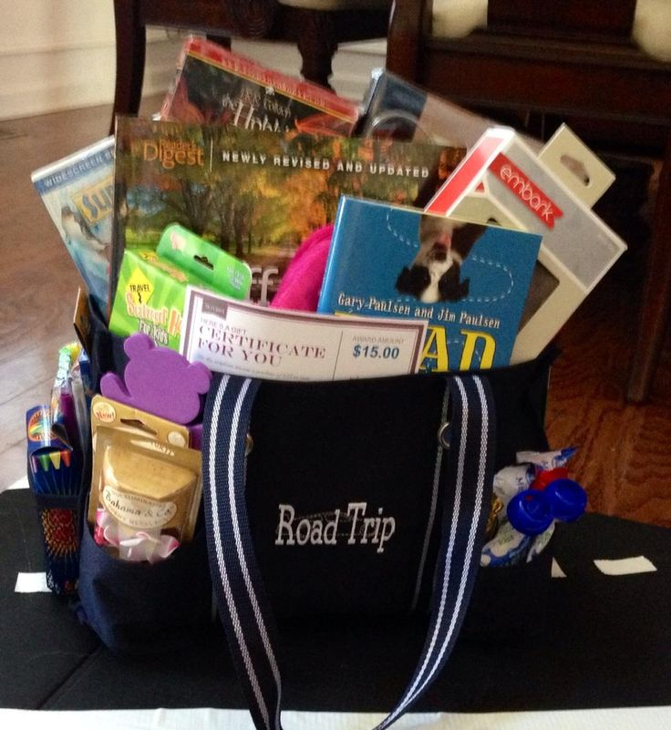 "2nd bag for fall festival auction theme ""Road Trip"""