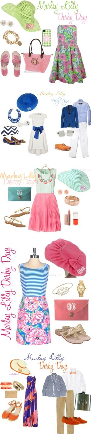 """Marley Lilly Derby Days"" by marleylilly on Polyvore"