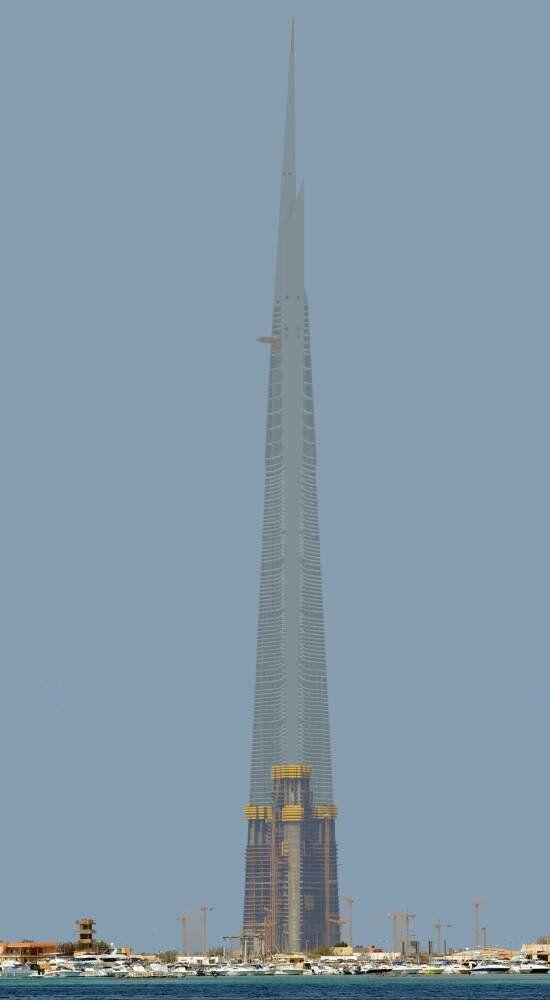 Jeddah Jeddah Tower 1000m 3281ft 167 Fl U C