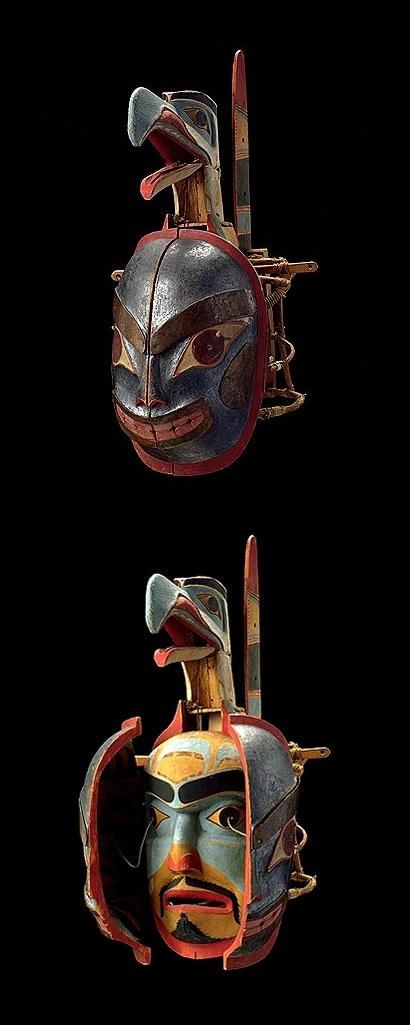 Transformation Mask - Haida Gwaii (19th Century)