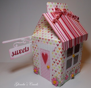 Cricut Sweet Tooth Boxes Cartridge: Valentine Sweets Store   *