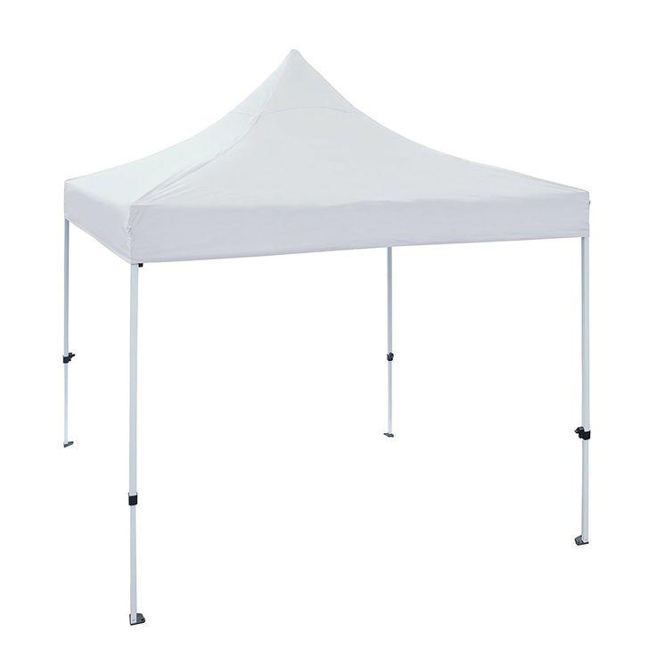 aleko 10 x 10 ft outdoor party waterproof white gazebo tent canopy white