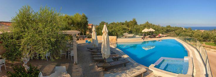 #View  of the #pool #PaliokalivaVillage #Zante #Zakynthos