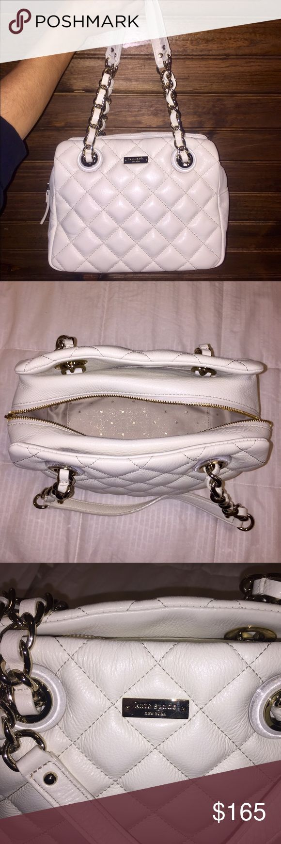 Kate Spade ♠️ Elizabeth, clogged cream purse Kate Spade, Elizabeth, Gold Coast, clotted cream purse. Tags and dust bag included. Barely worn. Spacious inside, with several compartments! kate spade Bags Shoulder Bags