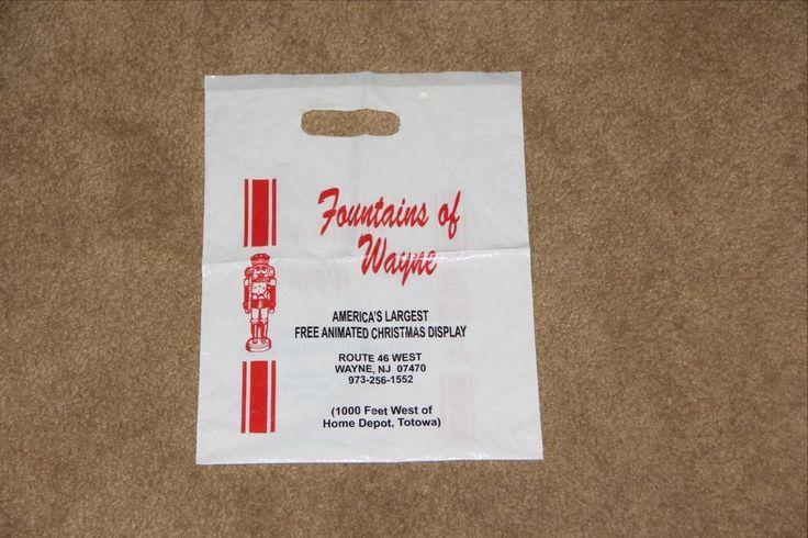 """Fountains of Wayne""  Shopping Bag  Wayne NJ"