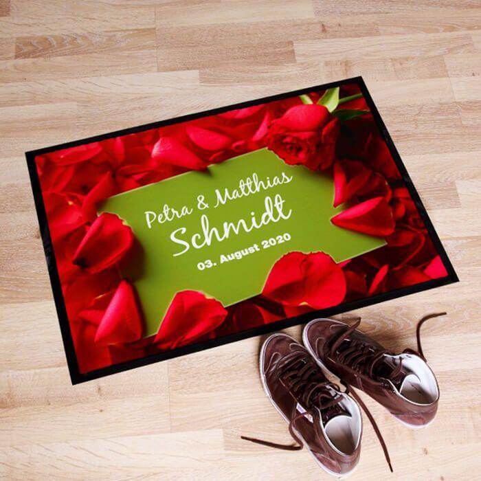 Personalisierte Fußmatte zur Hochzeit   Beliebteste Fußmatten mit Namen aus über 10 Shops   Unser Top-Auswahl für Sie! Jetzt entdecken...
