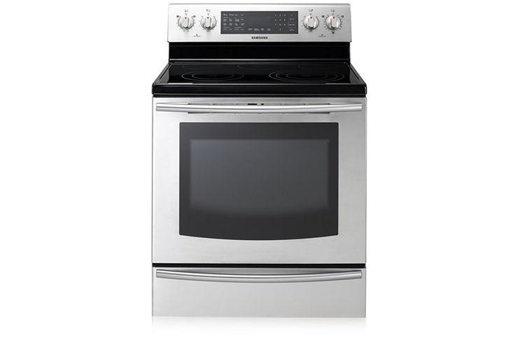 A-5 - Cuisinière électrique de 5,9pi³ (acier inoxydable)