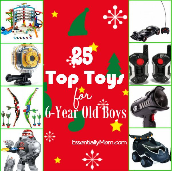 25 Top Toys for 6 Year Old Boys   Gifts Pinterest boys, year old boy and
