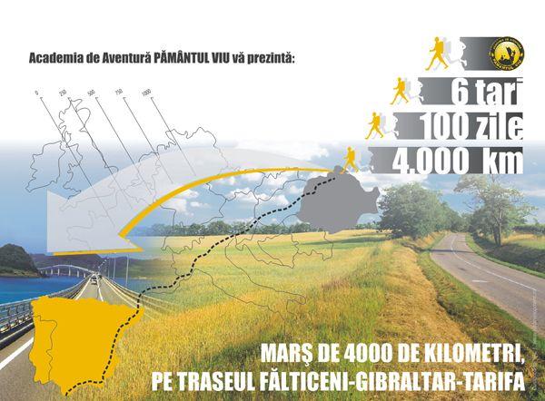 Doi Romani pleaca intr-o calatorie mai putin obisnuita! Vor strabate cei 4000 de kilometri dintre Falticeni si Gibraltar pe jos in doar 100 de zile!