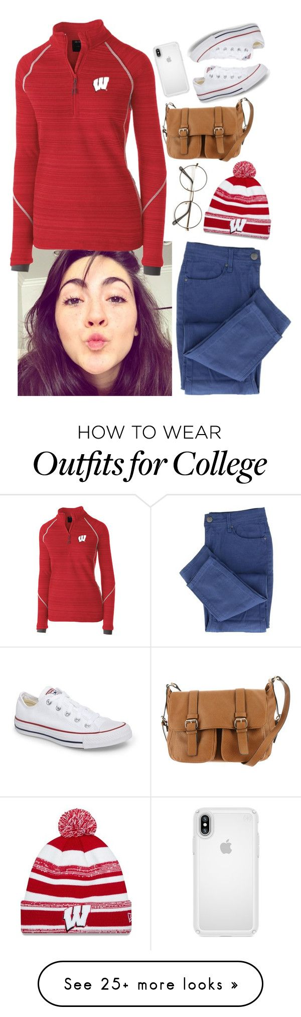 """""""""""What the puck?"""" -Clove"""" by amazingraciee on Polyvore featuring New Era, MMS Design Studio, Speck and Converse"""
