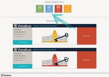 MATURA  Z ANGIELSKIEGO: nauka słówkek, kurs angielskiego na platformie Vocabus. Kurs przygotowujący do matury z języka angielskiego. Poziom podstawowy i rozszerzony.