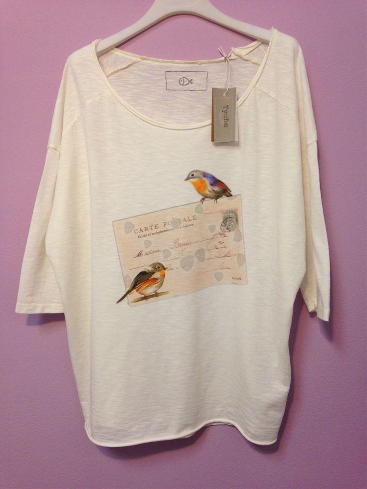 t-shirt over - stampa cartolina