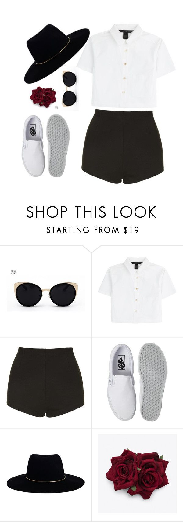 """""""FÅÑČŸ"""" by lululisi ❤ liked on Polyvore featuring Una-Home, Marc by Marc Jacobs, Topshop, Vans and Zimmermann"""