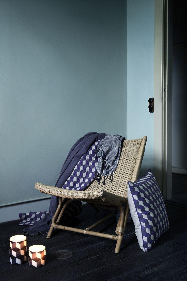 Series of textile patterns for Broste Copenhagen AW 14.