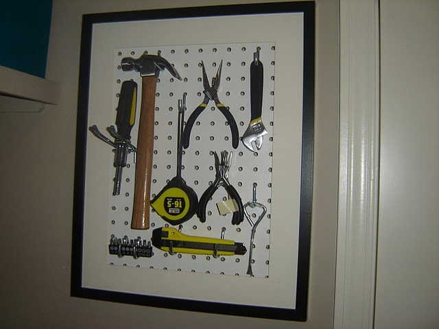 For the regularly used tools in the laundry room