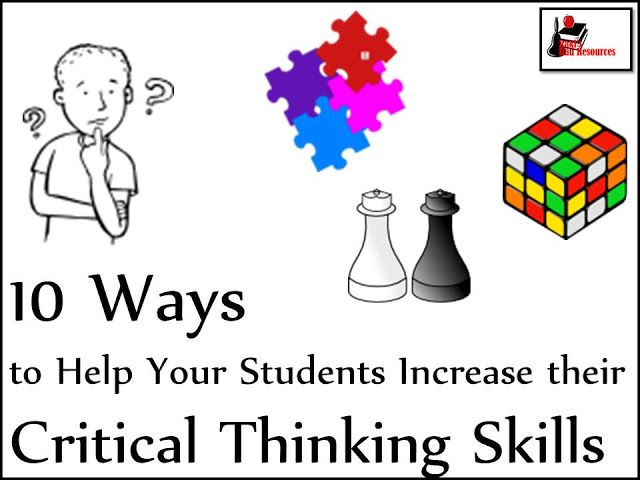critical thinking teaching resources Teaching thinking skills – selected resources 2003  introduction to thinking skills resources  infusing the teaching of critical and creative thinking.