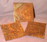 The Rust Guide ~ how to make tin and metal rusty using salt and peroxide or other techniques