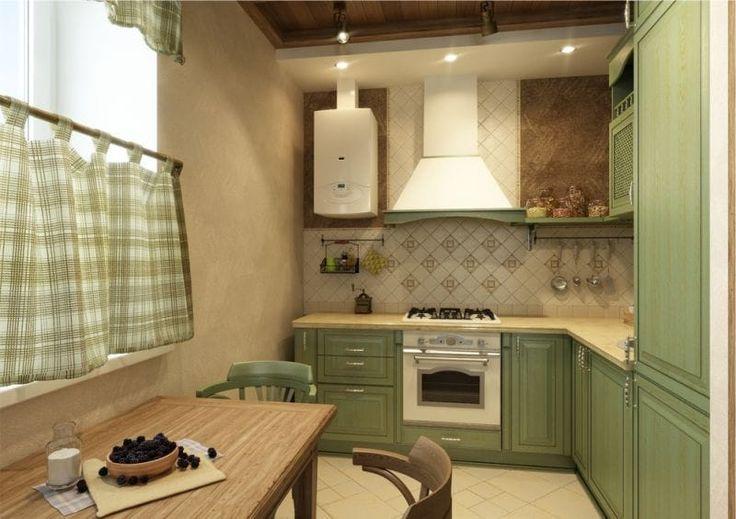Шторы кафе на кухне в стиле английского кантри
