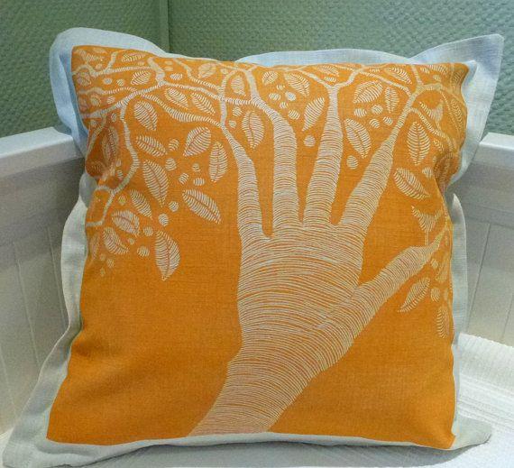 linocut/creative people/cushion cover/decorative by cushioncushion