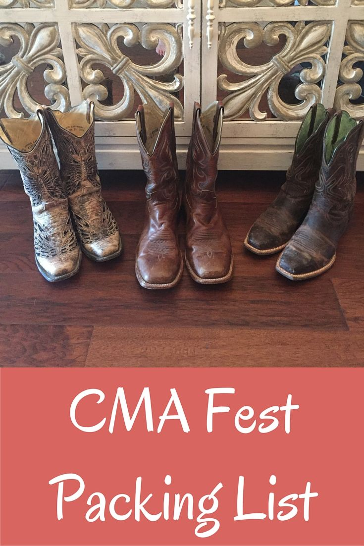 The CMA Festival is one of Wherever I May Roam Blog's favorite times of the year. Here is our packing list to get you through the epic long weekend. Enjoy! Stay hydrated.
