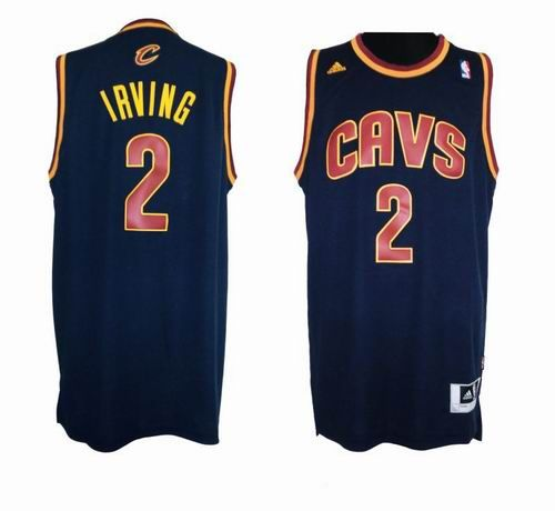 709fb621ee1 ... Cleveland Cavaliers 2 Kyrie Irving blue New Revolution 30 Swingman  Jersey 24.5 ...