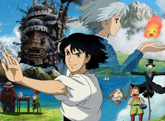 Howl's moving castle!! Love this movie!