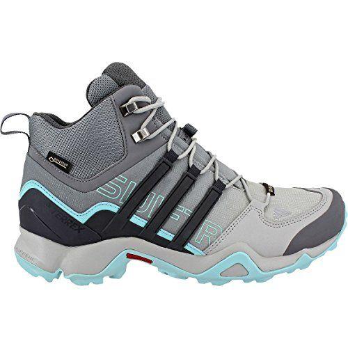 323ea0208a8 adidas outdoor Womens Terrex Swift R Mid GTX Shoe 6 Grey TwoUtility ...