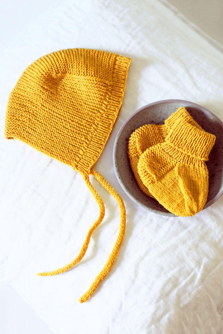Baby-Set aus Mütze und Socken