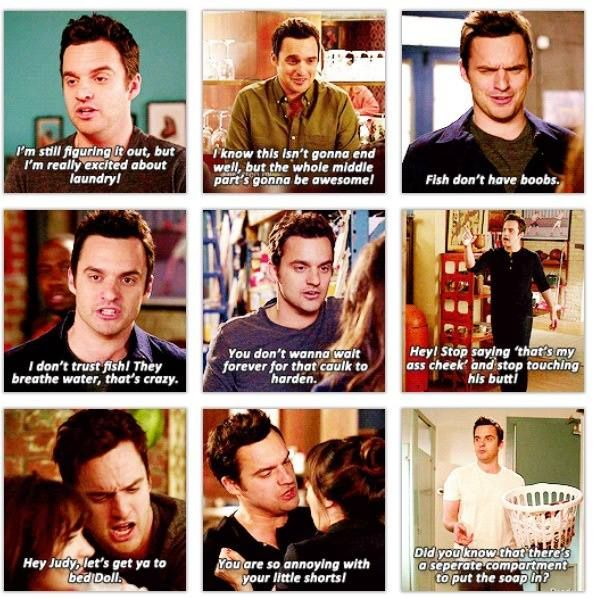I'm just really in love with Nick Miller okay? @Lexi Morgan You understand <3