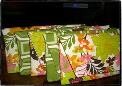 Clutches for the Ladies.Looking for a special gift for your bridesmaids? Make these Clutches for the Ladies! They'll love having a usable keepsake from you.