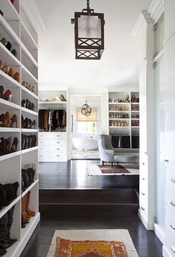 luxury closet organization