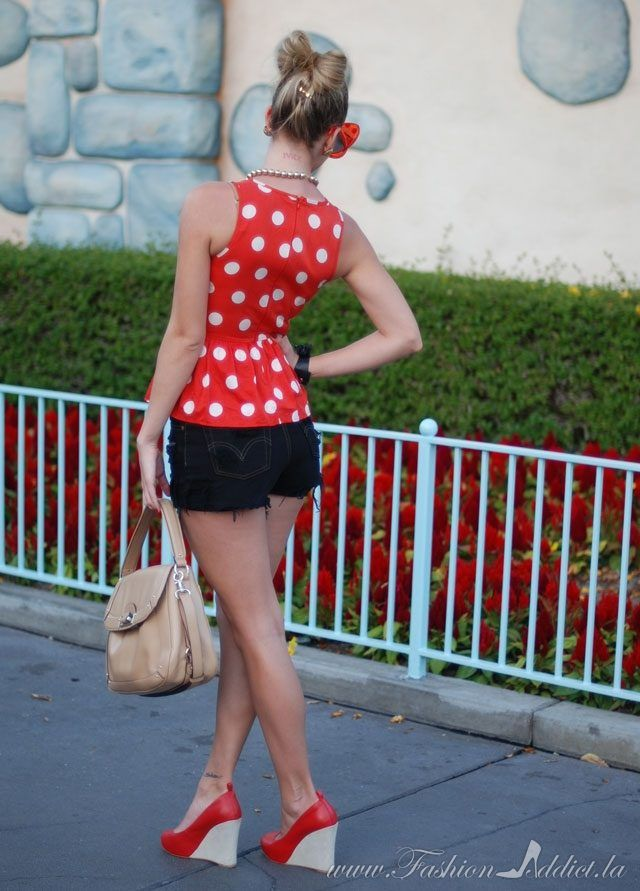 Couture De Minnie ( Dotted Sunglasses & Silk Tanks )