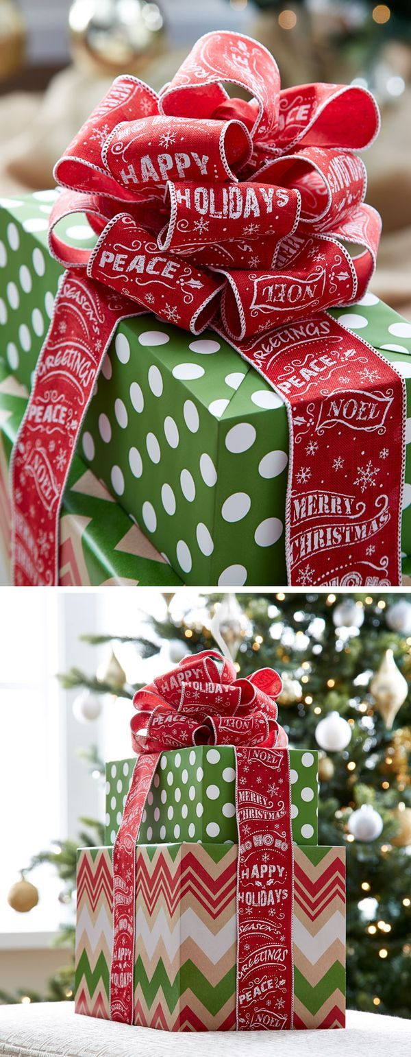 Make the wrap just as exciting as what's inside with our Gift Wrap Wonderland!
