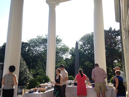 Buffet on the Portico