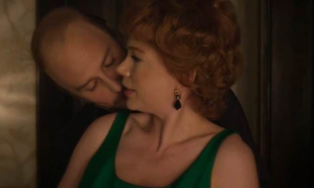 Michelle Williams Gets A Kiss From Sam Rockwell In Fosse Verdon