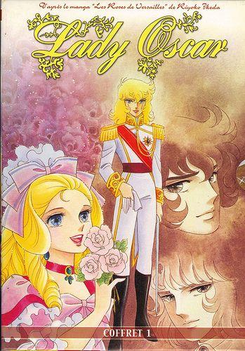 Lady Oscar - Coffret 01 Recto