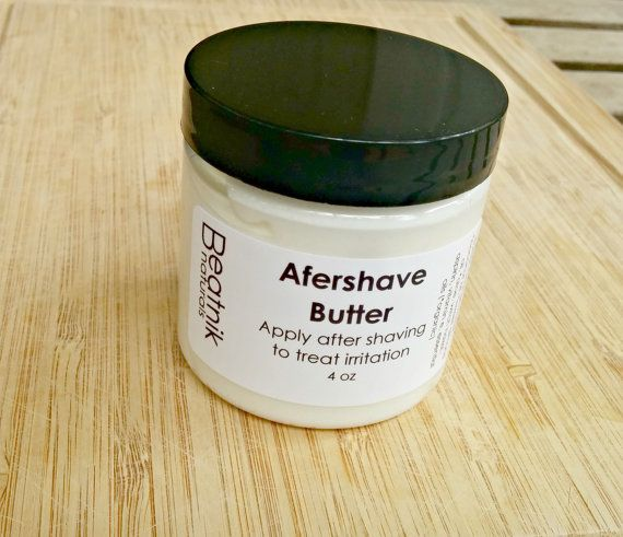 Organic Aftershave Butter for Men and Women, After Shave Balm, After Shave Cream, Aftershave Lotion, Unisex After Shave