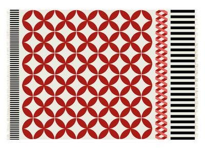 Scopri Tappeto Kilim Catania -/ 240 x 170 cm, Rosso di Gan, Made In Design Italia