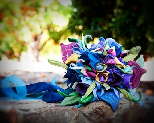 felt flower bouquet #felt #flower #bouquet