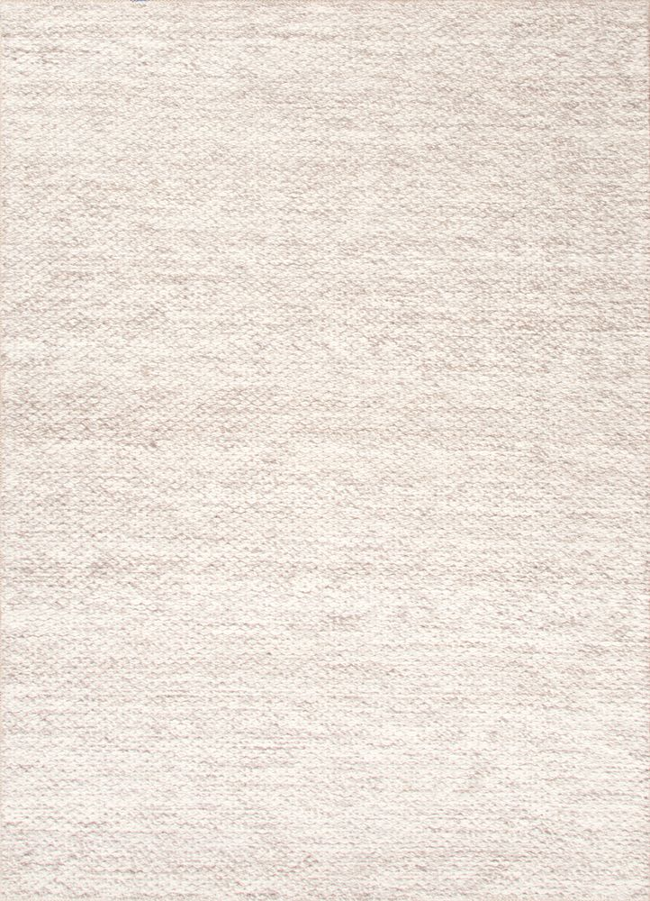 LIVING ROOM RUG Wool Material Carpet In IvoryWhite Color