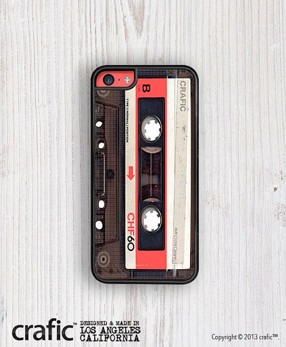Red Vintage Cassette IPHONE CASE iPhone 6/6S iPhone by CRAFIC