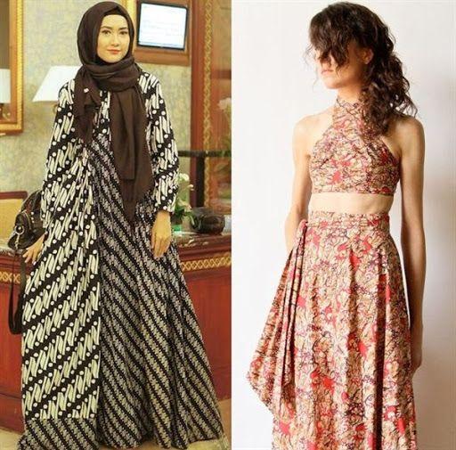 18.+dress+batik+cantik+modern.jpg (512×505)