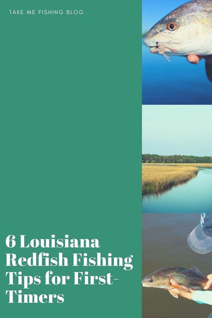how to catch redfish in louisiana
