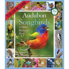 Audubon 365 Songbirds Calendar 2012 (Picture-A-Day Wall Calendars)