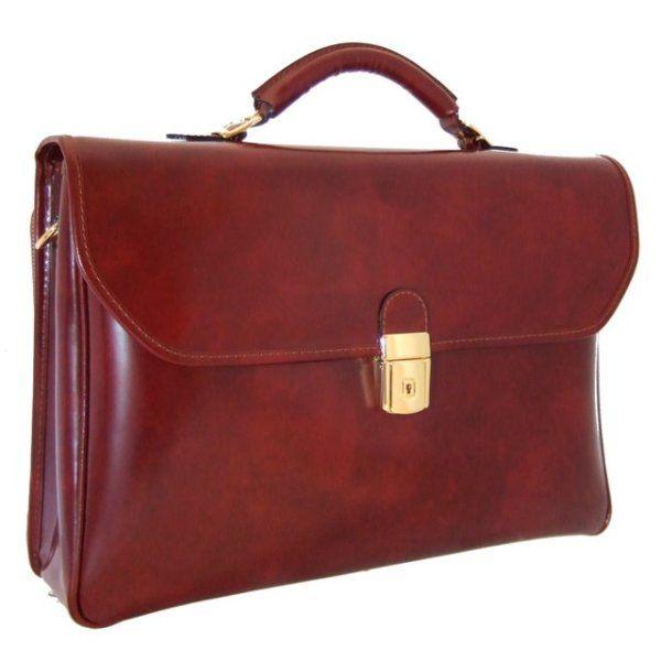 Деловая кожаная сумка pratesi Piccolomini-604-9 бордовая 659,00 €