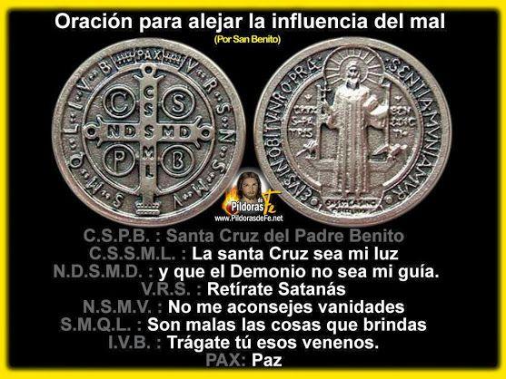MEDALLA DE LA CRUZ DE SAN BENITO. Pues para aquellos que no conocen la Medalla…