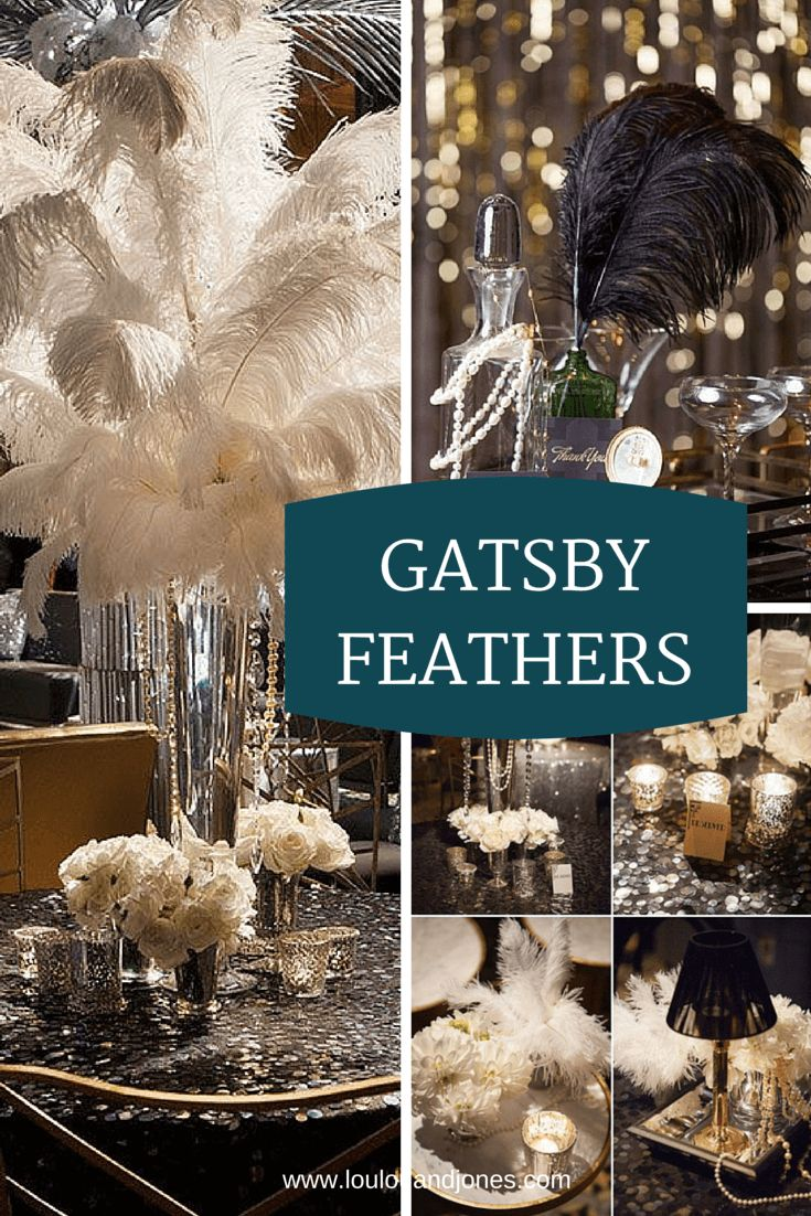 Must-Haves for a Glitzy and Glam Roaring 20's Gatsby Soiree