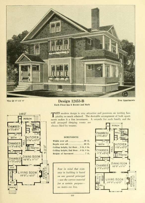 17 Best images about Historic Floor Plans on Pinterest House