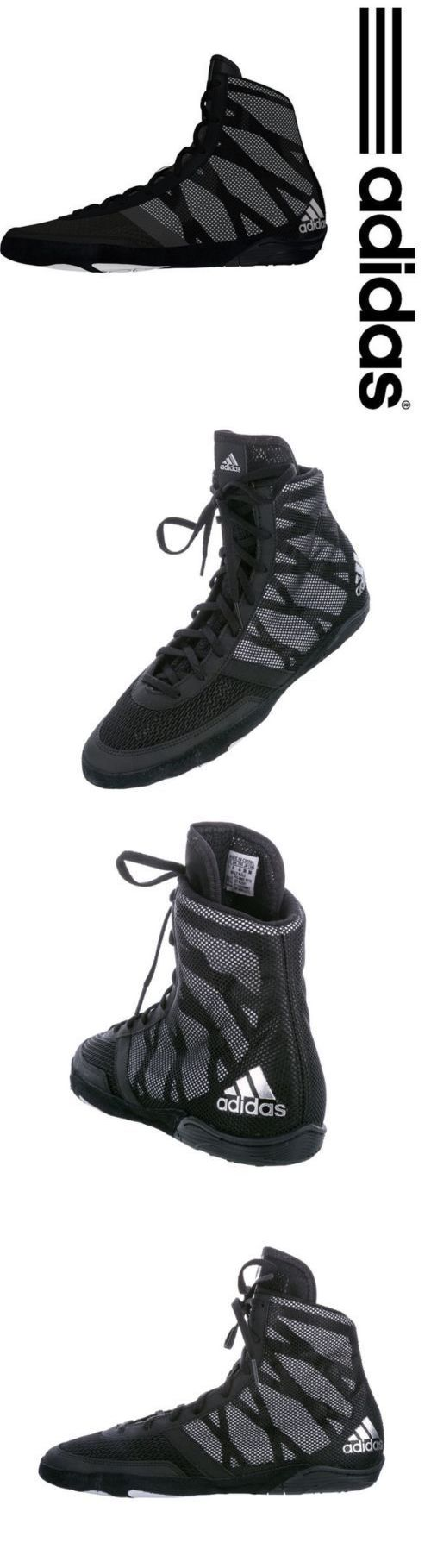Accessories 36306: Adidas Wrestling Shoes (Boots) Ringerschuhe Pretereo Iii Chaussures De Lutte BUY IT NOW ONLY: $59.95